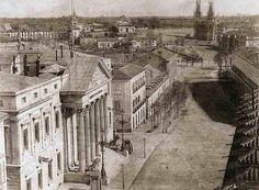 El Congreso de los Diputados en 1853. Los Jerónimos al fondo. #FelizMartes #DíaDeLaConstitución