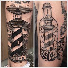 Faros/lighthouse @ltwtattoo #ltwtattoo