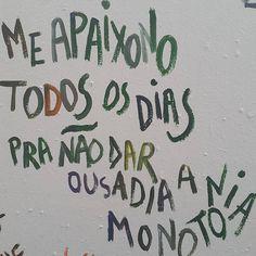 monotonia à ousadia ou ousadia à monotonia? (: clique da @celinasales)