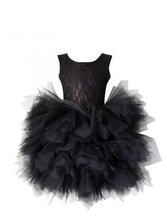 Dolly by Le Petit Tom Pirouette Dress in Black