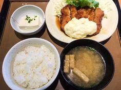 * — syokujirock: チキン南蛮定食 やよい軒 銀座1丁目店@銀座1丁目