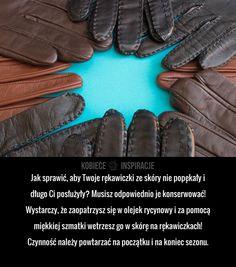 Jak prawidłowo dbać o skórzane rękawiczki?