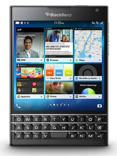 BlackBerry Passport - Factory Unlocked Smartphone - Black