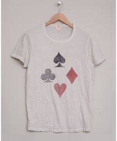 1960's Crew Tee Playing Cards | Levis Vintage
