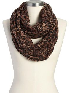 Old Navy leopard print scarf only $15 http://www.saltstyleblog.com