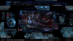 Star Trek: Into Darkness – Survillence Viewscreen | Rudy Vessup | Digital Artist