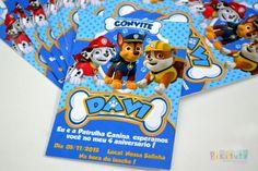 Promoção! Convite 10x7 - Patrulha Canina | Pikituty Lembranças | Elo7