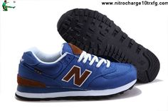 Cheap New Balance NB ML574BPB backpack retro royalBlue Brown For Men shoes Casual shoes Store