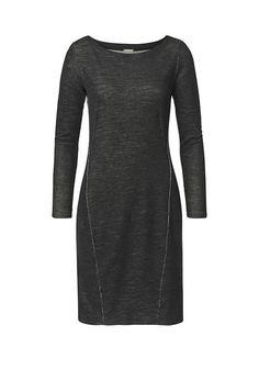 Kleid aus Bio-Baumwolle und Bio-Merinowolle #hessnatur #naturmode #bio #eco