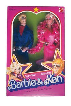 1978 SuperStar Barbie®  SuperStar Ken® Doll Set #2422 | Barbie Collector, Release Date: 1/1/1978 Product Code: 2422, $_