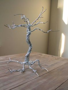Wire Wrapped Tree of Life Jewelry Holder by Sundame on Etsy, $17.50
