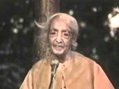 ▶ Jiddu Krishnamurti: Fear Destroys Love - YouTube