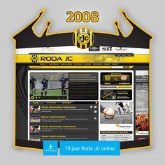 Screen www.rodajc.nl anno 2008.   Roda JC eindigde in het seizoen 2007/08 als negende in de eredivisie. In de eerste ronde van de play-offs werd de Koempelclub uitgeschakeld door N.E.C. (0-1, 0-2).  Roda J.C. bereikte tevens de bekerfinale die verloren werd tegen Feyenoord (0-2).  Ronald Lamah werd topscorer met 11 doelpunten. Hij vertrok in 2008 naar het Franse Le Mans.