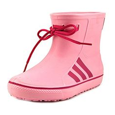 adidas Originals Kids Girls Originals Rain Girls Little KidBig Kid Clear Light PinkBlast Pink Boot 2 Little Kid M ** Read more reviews of the product by visiting the link on the image.