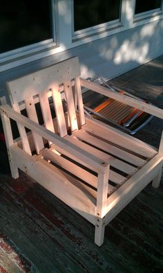 Simple Outdoor Chair | Do It Yourself Home Projects from Ana White