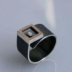 ring morningstar in oxidated silver with by andreasschiffler, €160.00