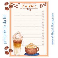 MeinLilaPark: Free printable To Do list - ausdruckbare To-Do-Liste - freebie