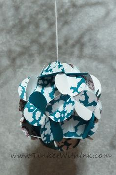 ornament tutorial  Tinker With Ink & Paper