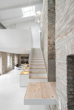 Miller House in Berlin / Asdfg Architekten Interior Design Inspiration, Home Interior Design, Interior And Exterior, Exterior Design, Interior Modern, Minimalist Interior, Scandinavian Interior, Midcentury Modern, Architecture Design