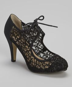 Another great find on #zulily! Black Martha Pump by Chase & Chloe #zulilyfinds