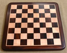 Buy Dark Colored Tournament Chess Board in Rose Wood Online