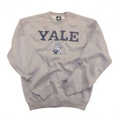 Yale - Team Vintage - Sweatshirt (Heather Grey) - Team Vintage - Ivy League