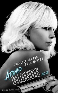 Charlize Theron is Atomic Blonde