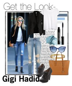 """""""Get the Look- Gigi Hadid"""" by teennetwork ❤ liked on Polyvore featuring Cartier, Michael Kors, Object Collectors Item, MANGO, Fendi, Stila and Lord & Berry"""
