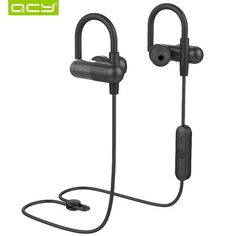 QCY QY11 ear hook sports headphones apt-x HIFI 3D stereo bass earbuds wireless bluetooth headset with Mic for phone calls