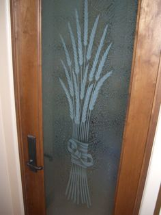 Pantry Doors With Glass. This Etched Glass Kitchen Door Adds Character To  Any House And I Love How The Light From Your Pantry Will Shine Through Thu2026