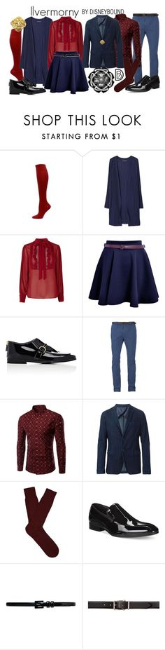 """Ilvermorny School of Witchcraft and Wizardry"" by leslieakay ❤ liked on Polyvore featuring MANGO, STELLA McCARTNEY, Scotch & Soda, Armani Collezioni, Pantherella, Alfani, Ralph Lauren, Alexander McQueen, harrypotter and school"