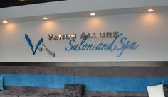 Venus Allure Dimensional Letters #CustomSigns #BusinessSigns #InteriorSigns #Signs #LobbySigns #Portland
