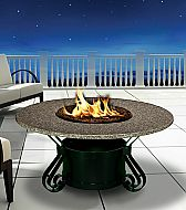 Timeless Elegance, Value and Beauty really describe the graceful lines of the Solano Fire Pit Table by California Outdoor Concepts also part of the Signatu Propane Fire Pit Table, Fire Table, Copper Glass, Grey Glass, Fire Pits For Sale, Modern Outdoor Fireplace, Outdoor Fireplaces, Hot Tub Patio, Backyard Patio