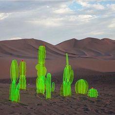 Installation in the Death Valley by Nobel Truong Land Art, Street Art, Instalation Art, 3d Fantasy, Art Sculpture, Arte Popular, Death Valley, Public Art, Graphic