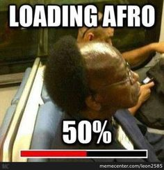 Loading Afro by leon2585 - Meme Center