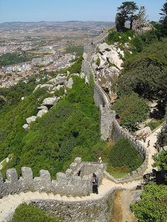Castelo dos Mouros - Sintra ( Portugal ) | Flickr - Photo Sharing!