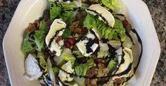Ensalada con granada frutos secos y queso de cabra Receta de anapahamu - Cookpad