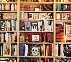Yves Saint Laurent's Library