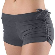 Versashort Adjustable Length Shorts; from Dancewear Soluctions...my new favorite shorts for pole!