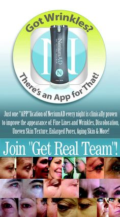 I've only used it for 2 weeks.....my skin is significantly brighter, more even texture and tighter.   I used to sell in a major department store and have never seen results like this before!   Check out my web page.     Http://triciaann10@nerium.com