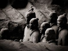 Os #Guerreiros de #Terracota. Xi'an e os soldados do imperador Qin Shi Huang
