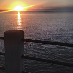 Sunrise over The Battery in #Charleston