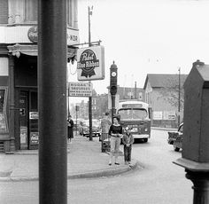 North Ave. bus ca. 1959