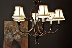 Frilly Details: Dining Room Light Makeover ORB Style!