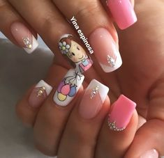 Uñas Love Nails, Pretty Nails, Kawaii Nail Art, Toe Nail Designs, Beauty Spa, Cross Stitch Patterns, Manicure, Art Nails, Designed Nails