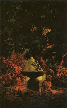 Le Prince Lointain: Maxfield Parrish (1870-1966), Reverie - 1926