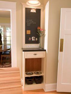 Mini bancada com porta comida e gavetas
