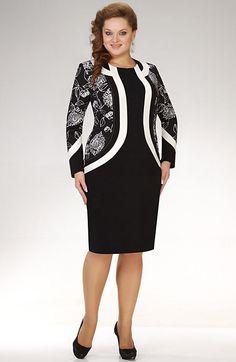 979a (449x690, 32Kb) Dress Outfits, Fashion Dresses, Corporate Fashion, Looks Plus Size, Batik Dress, Looks Chic, Plus Dresses, Muslim Fashion, Classy Dress