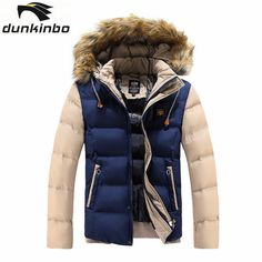>> Click to Buy << Mens Winter Jackets Men's Thick Parka With Removable Fur Hood Men Coat Winter Casual & Fit Thick Man Cotton Jacket A981 #Affiliate