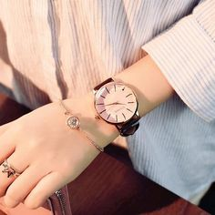BranXin - New and Polygonal dial design women watches luxury fashion dress quartz watch ulzzang popular brand white ladies leather wristwatch [Pink Glass Black] Cheap Watches, Casual Watches, Watches For Men, Women's Watches, Watches Online, Luxury Watches, Popular Watches, Nice Watches, Modern Watches